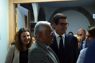 António Costa e Rui Moreira na inauguração da USF Rainha D. Amélia