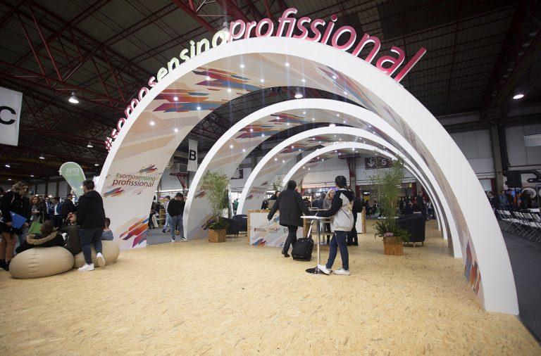 A Exponor recebe a feira de empregabilidade, formação e educação para os mais jovens.