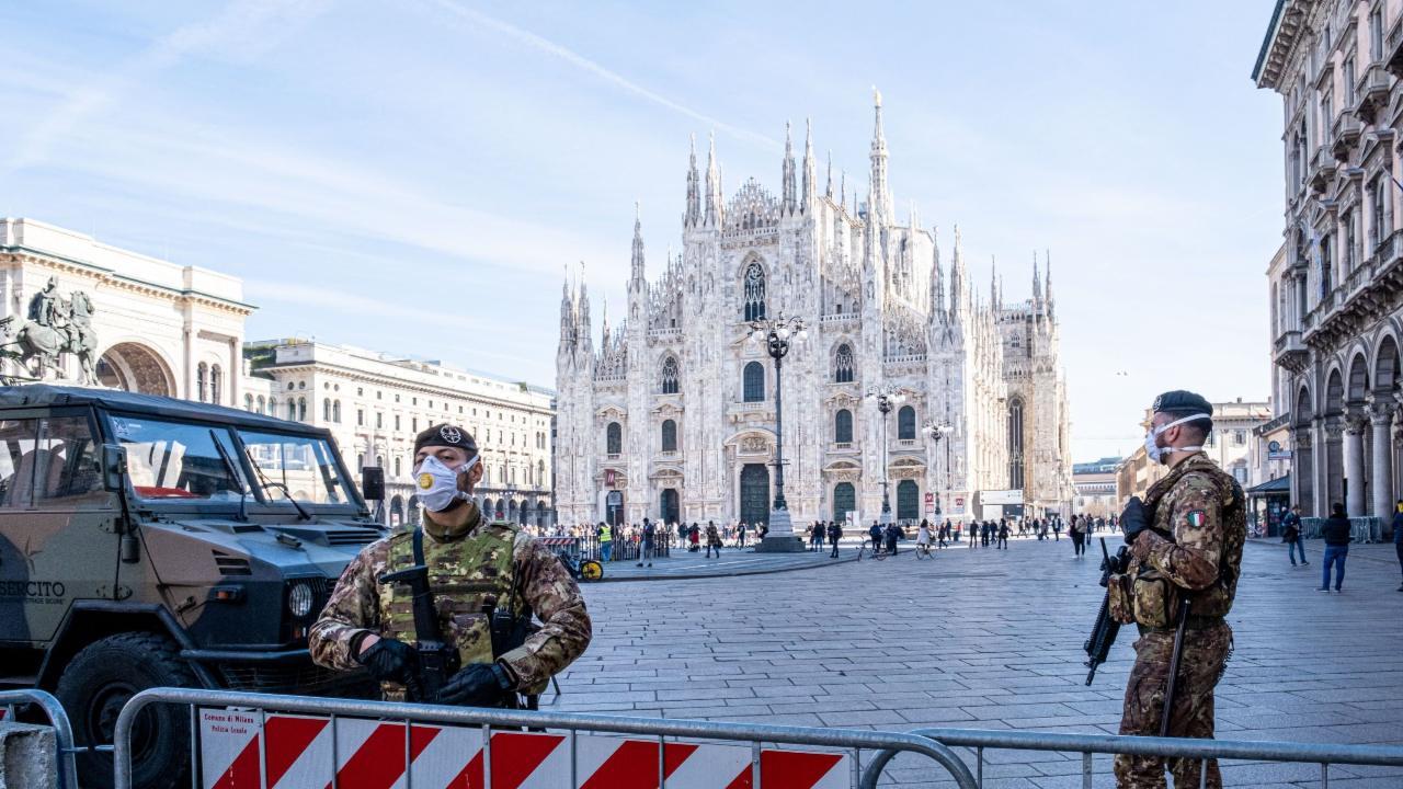Itália é o país com mais mortes registadas por COVID-19