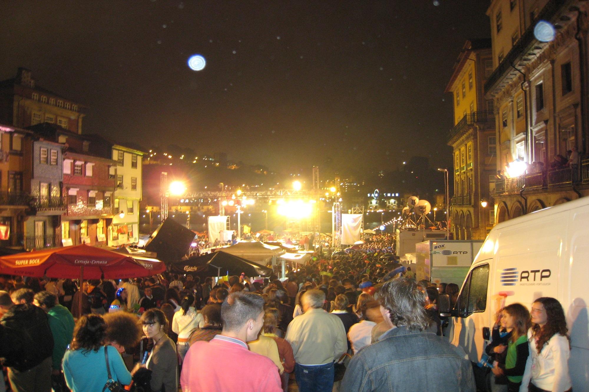 A festa ia acontecer na noite de 23 para 24 de junho.