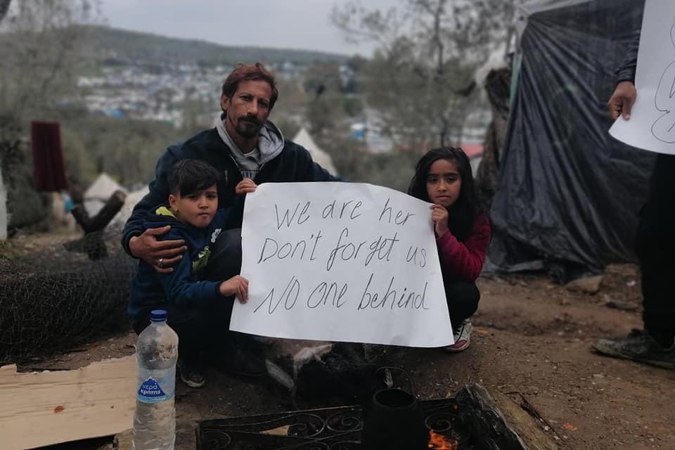 Para os refugiados na Grécia e na Síria, a vulnerabilidade é anterior ao vírus