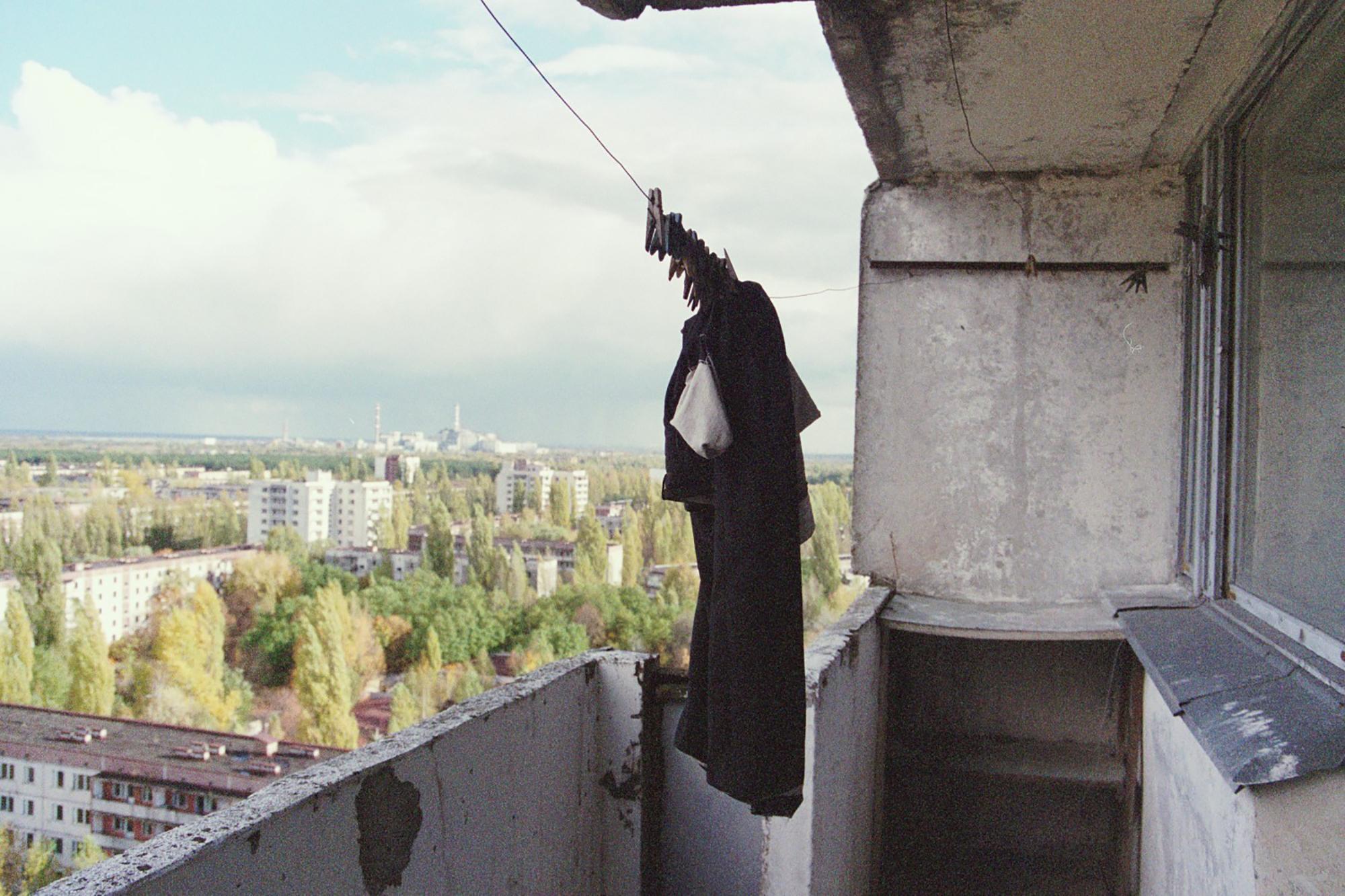 """Chernobyl é hoje conhecida como """"cidade fantasma""""."""