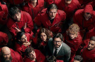 La Casa de Papel é a série de língua não inglesa mais vista, por todo o mundo, na Netflix.