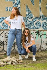Beatriz Viegas e Jéssica Oliveira são a dupla da equipa TEA'MARIA.