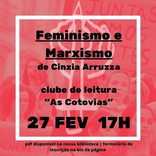 As inscrições para o clube de leitura do Coletivo Feminista de Letras estão abertas a todos.
