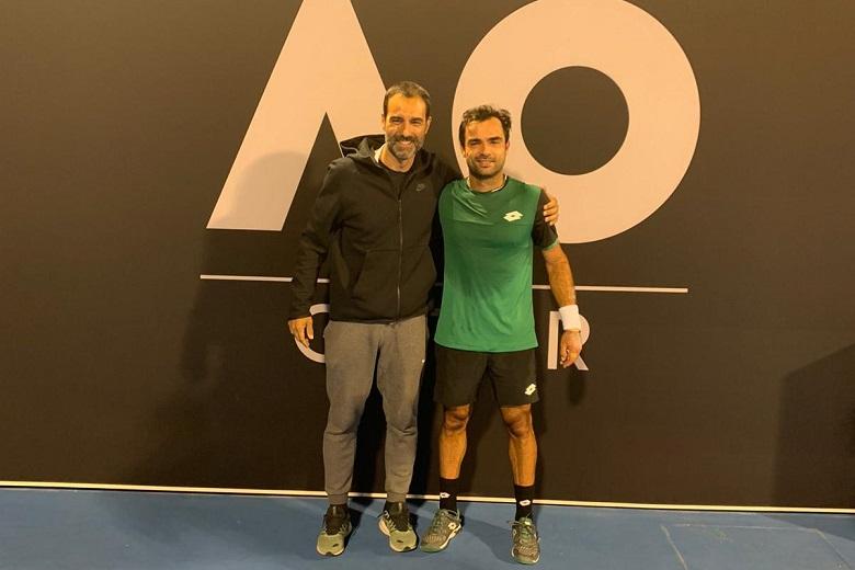 O preparador físico teve oportunidade de estar com Frederico Silva na qualificação para o Open da Austrália, disputada em Doha, no Qatar.