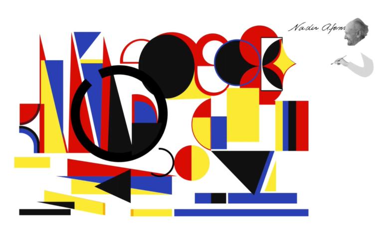 A obra animada por Lucas Schwantes foi Geometrias, de 1952.