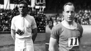 Abrahams (à esquerda) e Liddell (à direita) protagonizaram uma das grande histórias de Paris 1924.