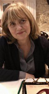 A autora Rosa Maria Martelo.