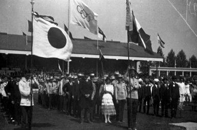 """Autuérpia foi o local onde se vislumbrou a famosa bandeira dos """"cinco anéis"""" pela primeira vez."""