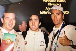 Miguel Lucas fez parte da comitiva portuguesa nos Jogos Olímpicos de Sydney, em 2000, como treinador de Carlos Calado.