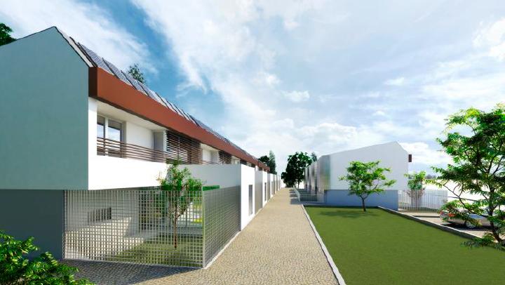 Projeto para moradias germinadas em Vila Nova de Gaia
