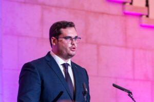 André Reis, Presidente da FADU, representou o desporto universitário na audição às entidades desportivas na Assembleia da República, em fevereiro.