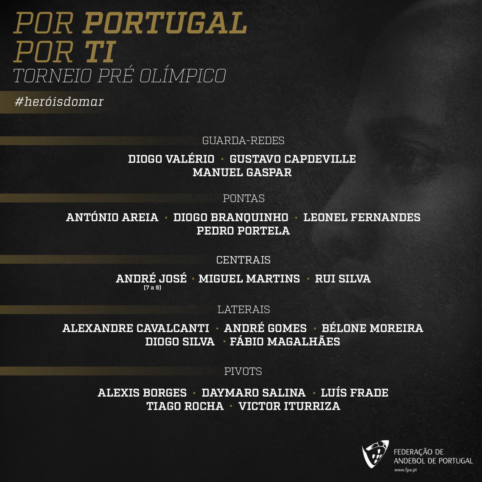 Os guarda-redes Alfredo Quintana e Humberto Gomes são os principais ausências da convocatória de Paulo Jorge Pereira, juntamente com Gilberto Duarte.