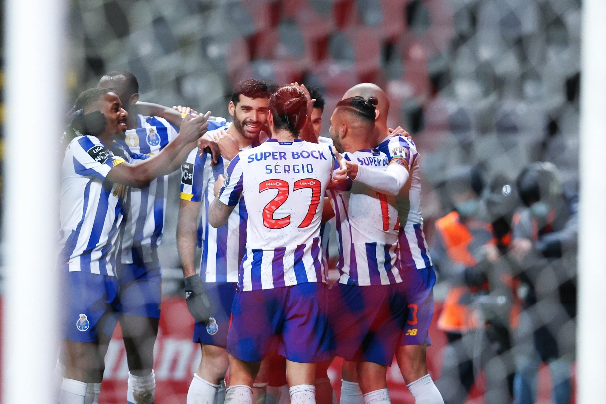 FC Porto está em vantagem na eliminatória após o empate a uma bola na primeira mão, jogada em Braga.