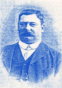 """Henry Augustus """"Gus"""" Mears e o irmão compraram Stamford Bridge."""