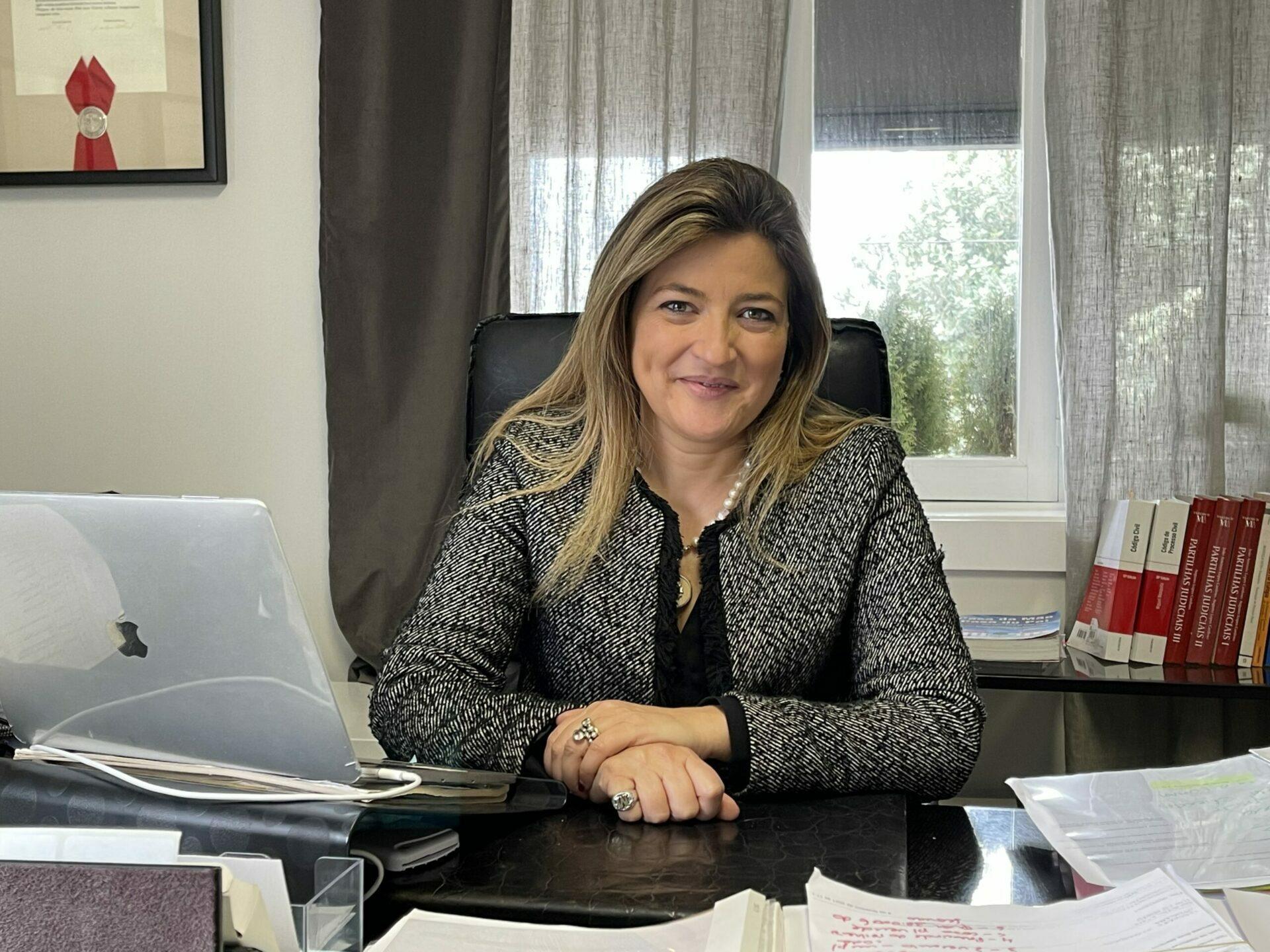 """Manuela Brás Marques, criadora da aplicação """"Casa da Mãe, Casa do Pai"""""""