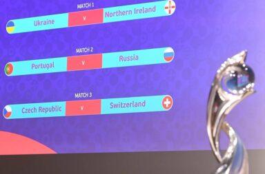 Portugal parte para o play-off com sete derrotas em sete encontros com a seleção russa.