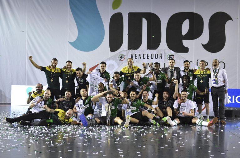O Sporting CP conquistou a terceira Taça da Liga, igualando o SL Benfica.