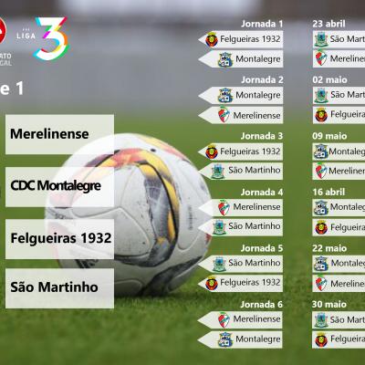 Série 1 da Fase de Acesso à Liga 3 do Campeonato de Portugal.