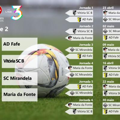 Série 2 da Fase de Acesso à Liga 3 do Campeonato de Portugal.