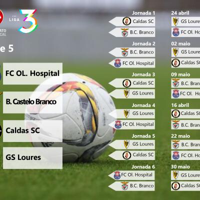 Série 5 da Fase de Acesso à Liga 3 do Campeonato de Portugal.
