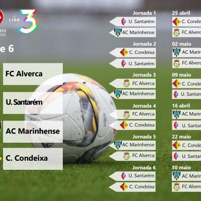 Série 6 da Fase de Acesso à Liga 3 do Campeonato de Portugal.