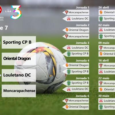 Série 7 da Fase de Acesso à Liga 3 do Campeonato de Portugal.