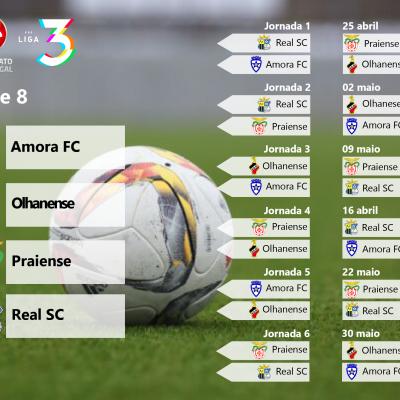 Série 8 da Fase de Acesso à Liga 3 do Campeonato de Portugal.