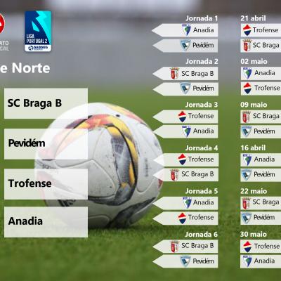 Série Norte da Fase de Subida do Campeonato de Portugal.