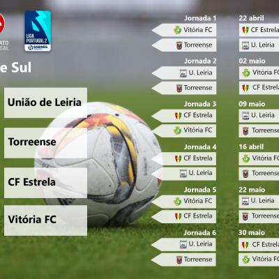 Série Sul da Fase de Subida do Campeonato de Portugal.