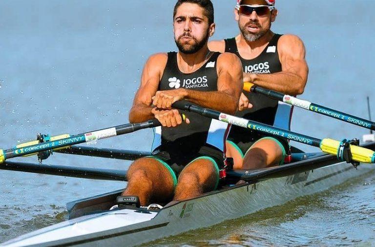 Dupla portuguesa de remo apura-se para os Jogos Olímpicos de Tóquio