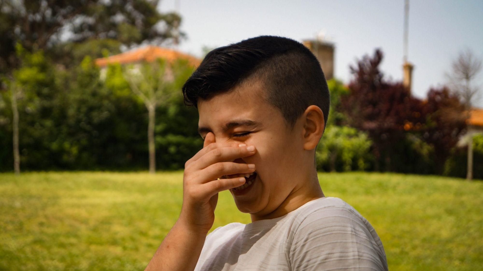 Bernardo Ribeiro, paciente com Síndrome de Tourette.