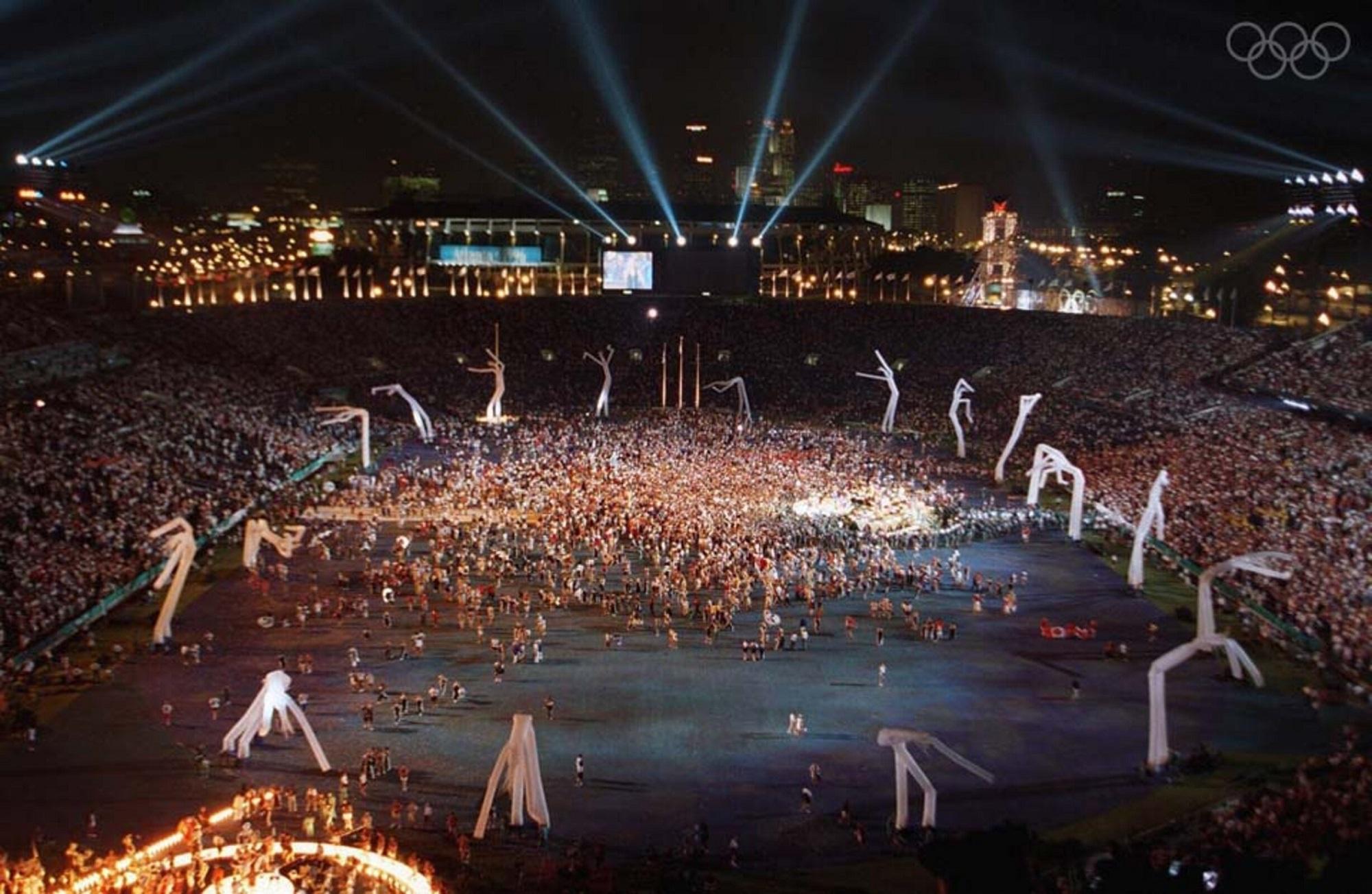 Cerimónia de Abertura dos Jogos Olímpicos de Atlanta