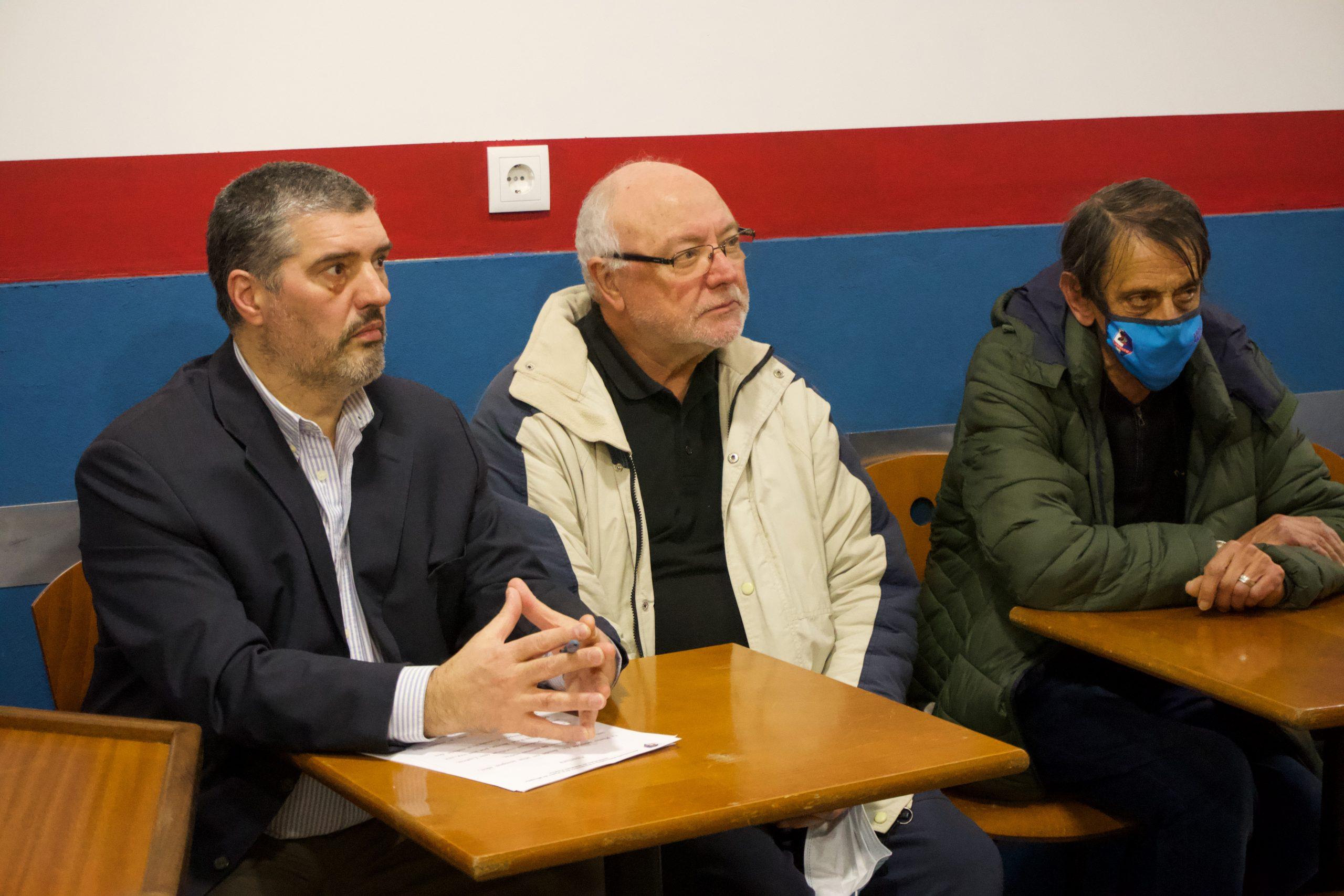 Diretores da Associação Recreativa e Desportiva São Pedro de Miragaia