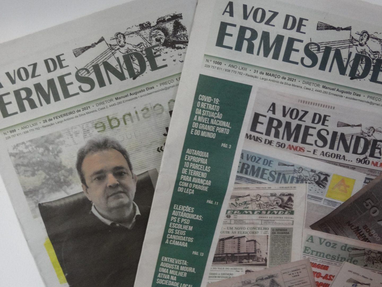 """""""A Voz de Ermesinde"""" alcançou as mil edições"""