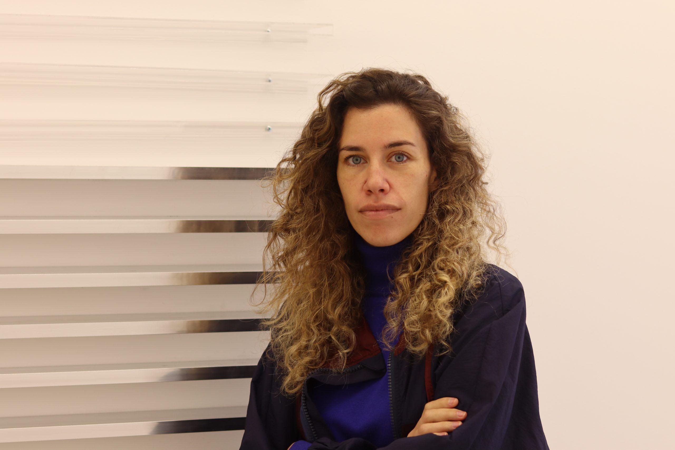 """Andreia Garcia, arquiteta e curadora da exposição """"Contemporâneos Extemporâneos"""""""