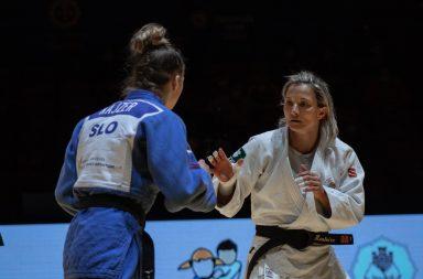 Telma Monteiro tornou-se na judoca europeia mais medalhada, competindo em apenas uma categoria.