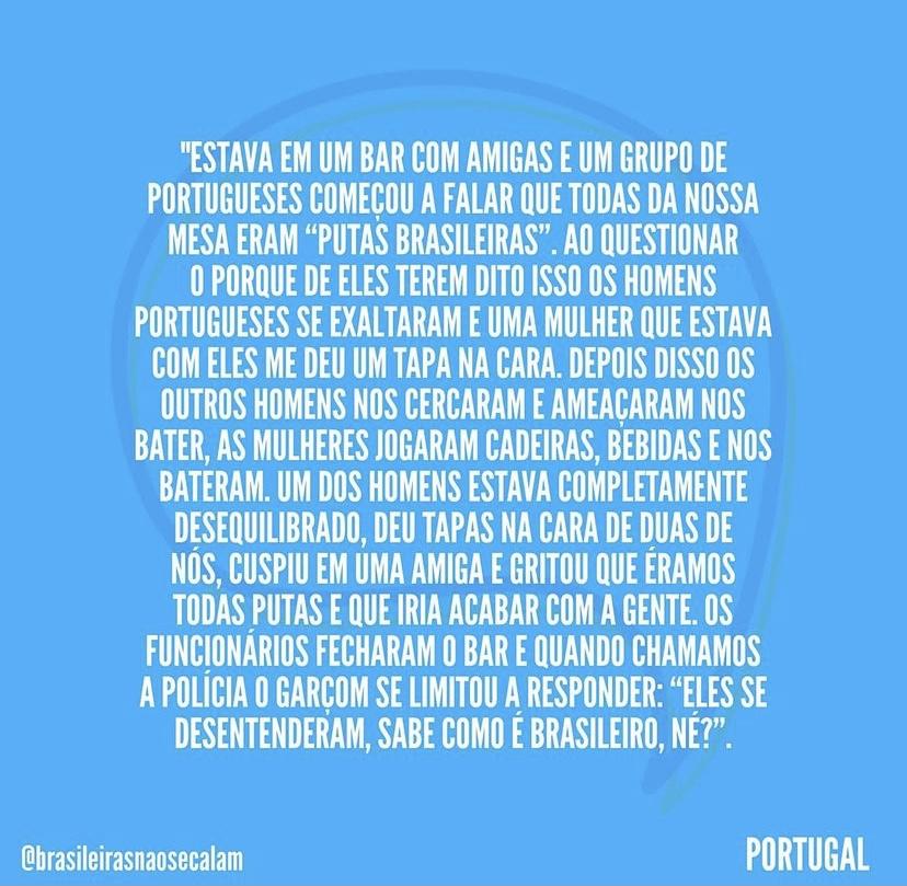 Reprodução: Brasileiras Não Se Calam